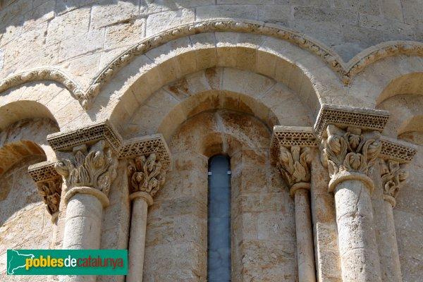 Sant Martí Sarroca - Església de Santa Maria, detall absis