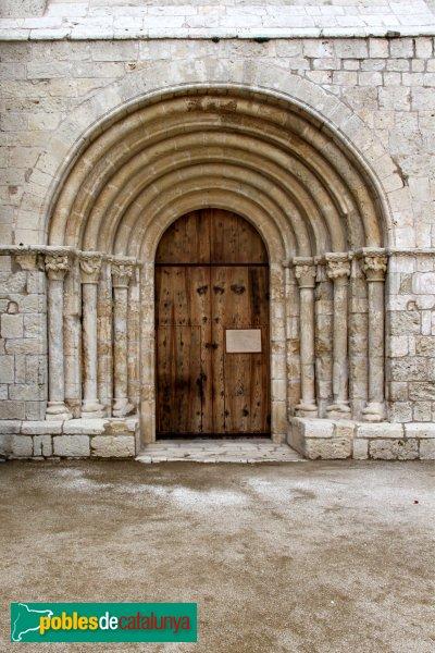 Sant Martí Sarroca - Església de Santa Maria, portada