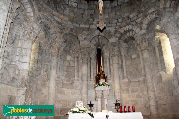 Sant Martí Sarroca - Església de Santa Maria, interior absis