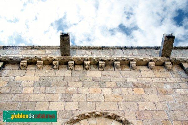 Sant Martí Sarroca - Església de Santa Maria, mènsules