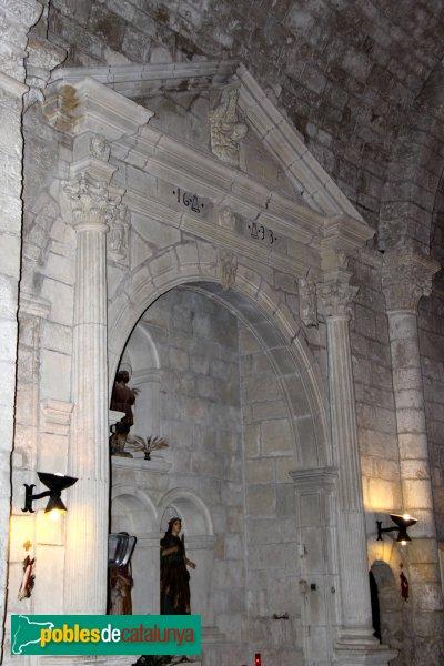Sant Martí Sarroca - Església de Santa Maria, capella renaixentista