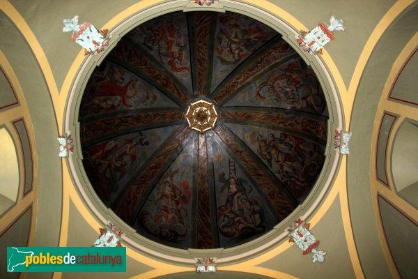 Sant Martí Sarroca - Església de Santa Maria, capella neoclàssica