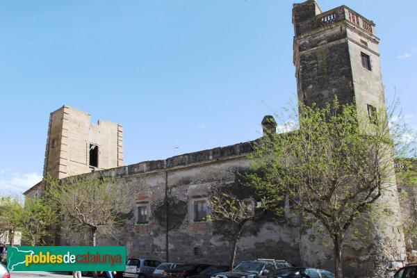 Sant Pere Pescador - Casa Caramany, façana nord