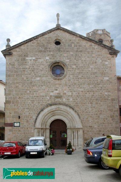 Sant Pere de Riudebitlles - Església