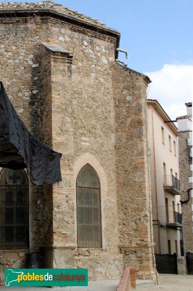 Sant Pere de Riudebitlles - Església, absis