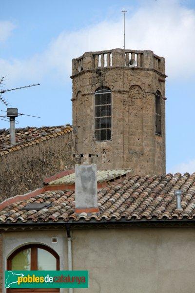 Sant Pere de Riudebitlles - Església, campanar