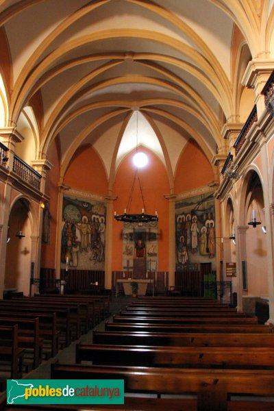 Sant Pere de Riudebitlles - Església, interior