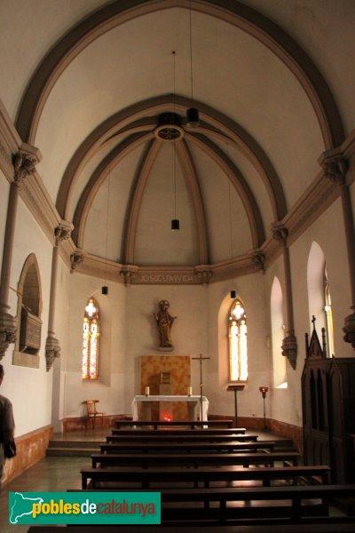 Sant Pere de Riudebitlles - Església, capella