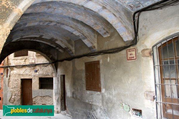 Sant Pere de Riudebitlles - Voltes del Quirri