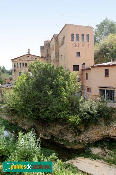 Sant Pere de Riudebitlles - Molí de la Font