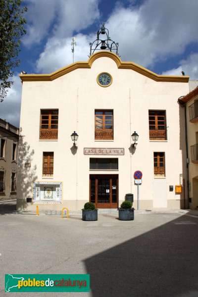 Sant Pere de Riudebitlles - Ajuntament