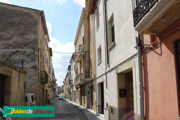 Sant Pere de Riudebitlles - Carrer Nou