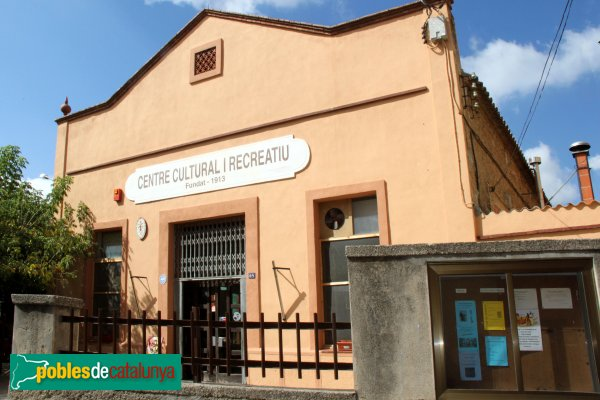 Sant Pere de Riudebitlles - Carrer Nou, el Centre