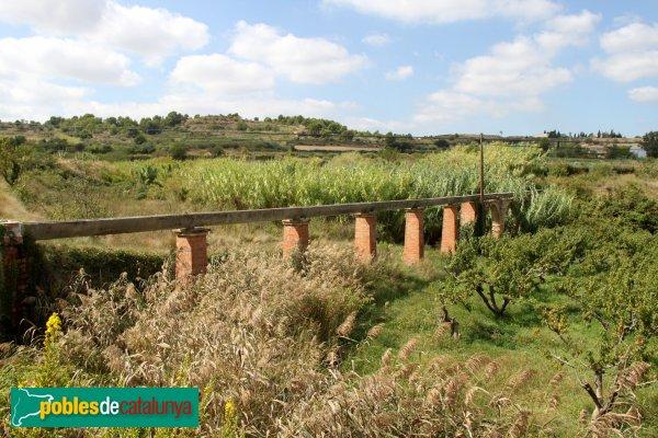 Sant Pere de Riudebitlles - Pont del Sabater