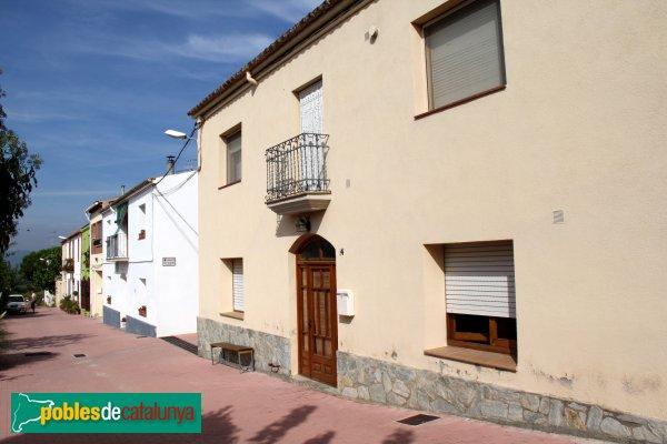 Subirats-Sant Pau d´Ordal - Carrer de Can Rovira