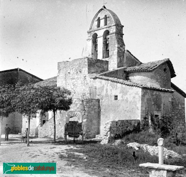 Subirats-Lavern - Sant Pere de Lavern, església antiga