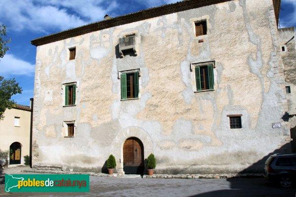 Subirats - Palau Gralla (Torre-ramona), façana principal