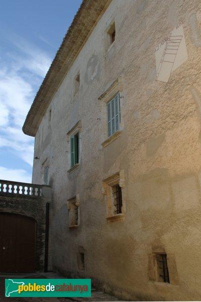 Subirats - Palau Gralla (Torre-ramona), façana de ponent