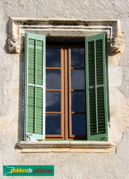 Subirats - Palau Gralla (Torre-ramona), finestral