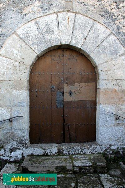 Subirats - Sant Joan Sesrovires, porta façana nord