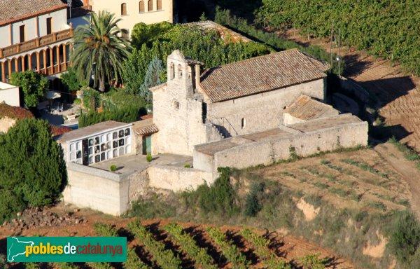 Subirats - Sant Joan Sesrovires, des del castell de Subirats