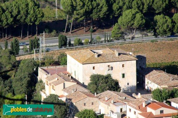 Subirats - Torre-ramona, des del castell de Subirats