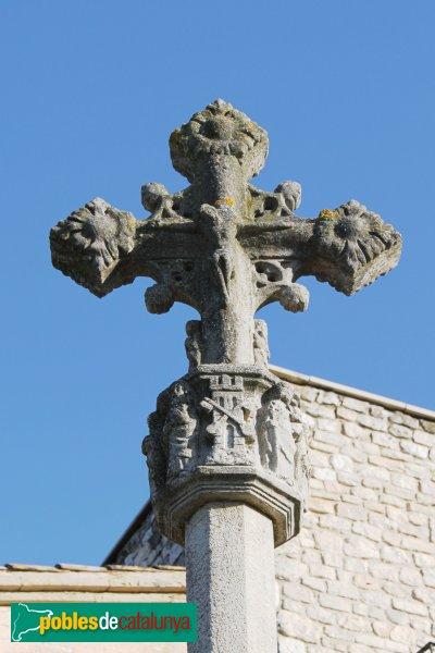 Subirats - Creu del castell de Subirats