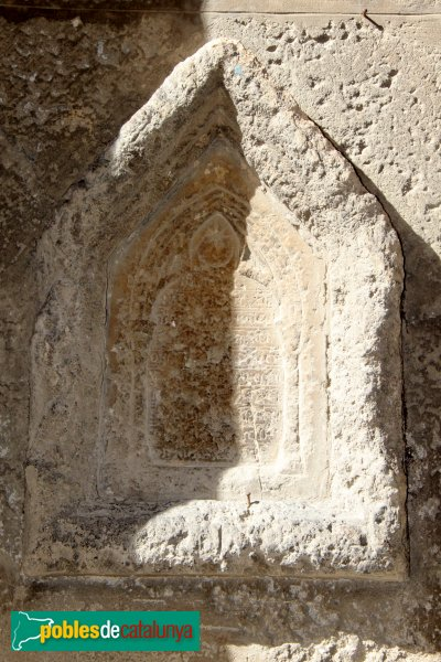 ilafranca - Basílica de Santa Maria, primera pedra, 1285