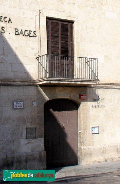 Vilafranca del Penedès - Cal Gomà, porta
