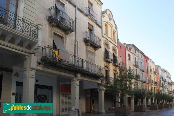 Vilafranca del Penedès - Plaça de la Constitució