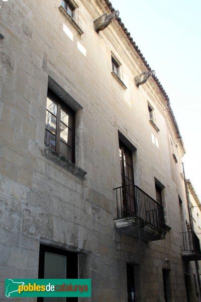 Vilafranca del Penedès - Ajuntament, façana lateral