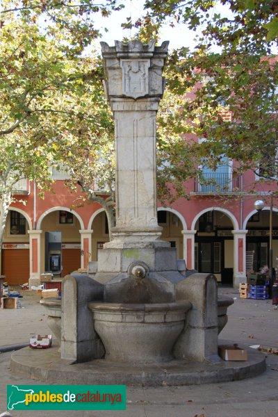 Vilafranca del Penedès - Font de Sant Joan
