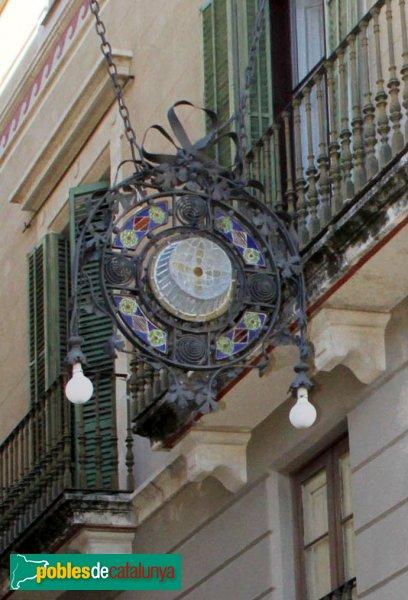 Vilafranca del Penedès - Fanals del carrer Santa Maria