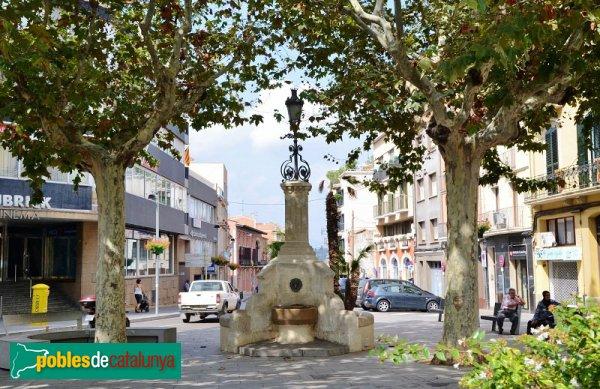 Vilafranca del Penedès - Font dels Alls