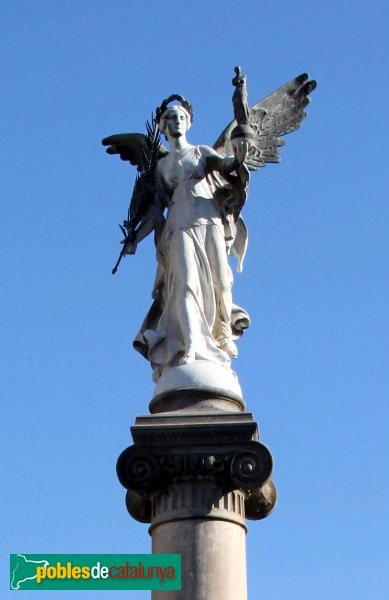 Vilafranca del Penedès - Monument a Milà i Fontanals