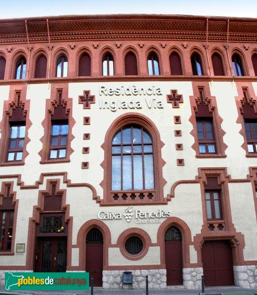 Vilafranca del Penedès - Asil Inglada Via.