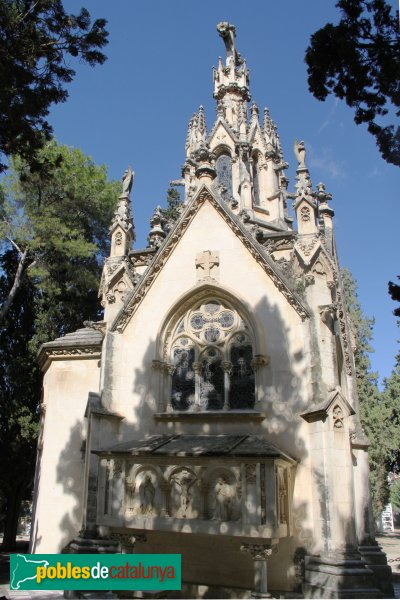 Vilafranca del Penedès - Cementiri, panteó Antoni Jané