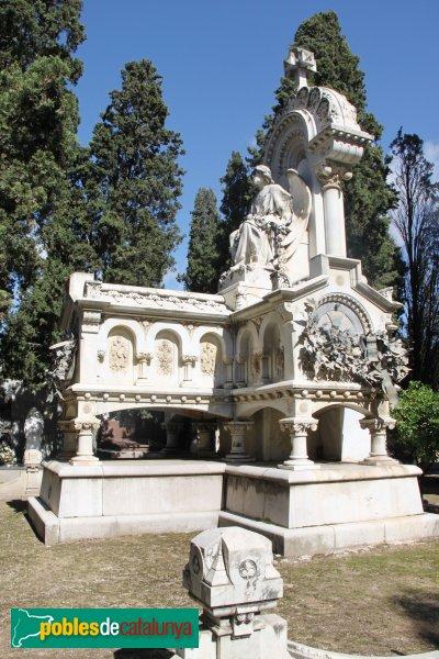 Vilafranca del Penedès - Cementiri, panteó Ramon Marimon