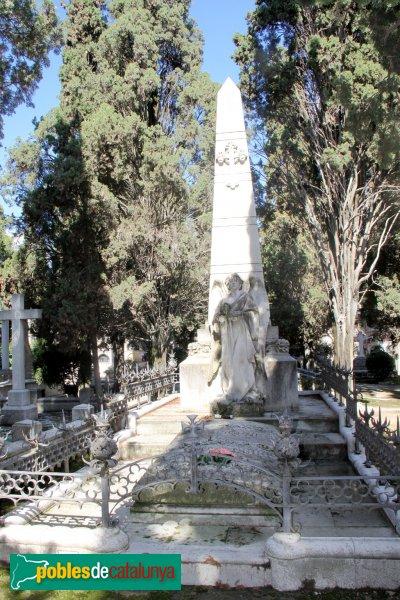 Vilafranca del Penedès - Cementiri, panteó Miquel Torres