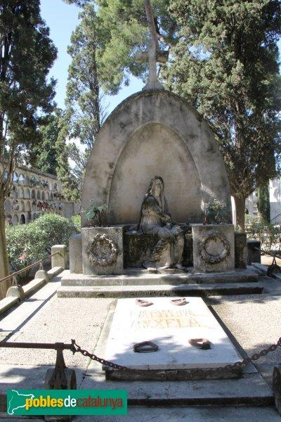 Vilafranca del Penedès - Cementiri, panteó Aixelà