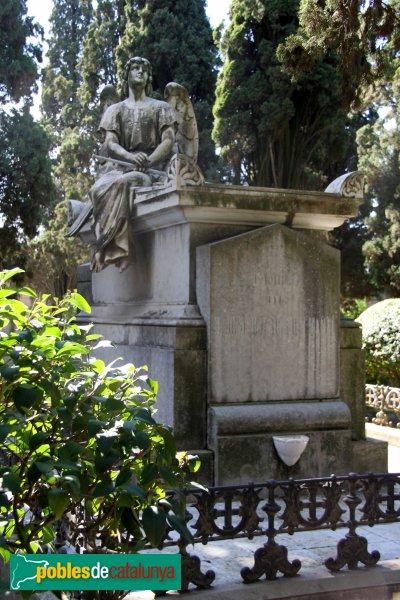 Vilafranca del Penedès - Cementiri, panteó Josep Balaguer