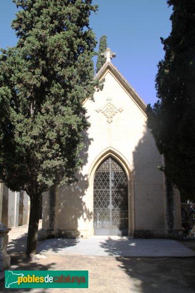 Vilafranca del Penedès - Cementiri, panteó Maria Torres Almirall