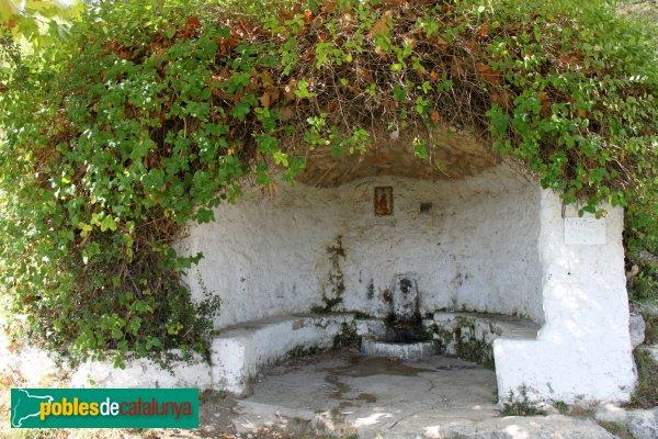 Vilafranca del Penedès - Conjunt eremític de Sant Pau, font de Sant Pau