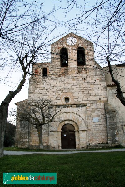 Pontons - Església de Santa Magdalena