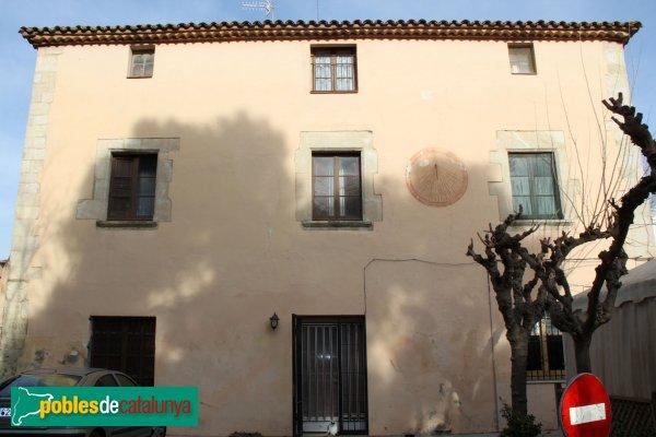 Olèrdola - L' Hostal Nou, façana posterior