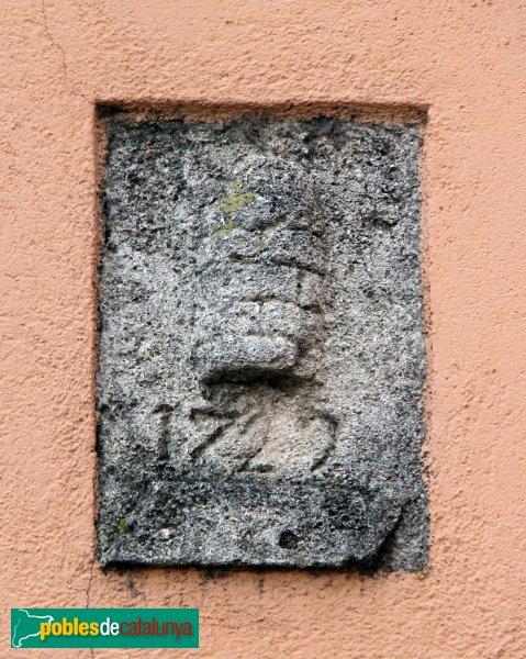Olèrdola - L' Hostal Nou, detall