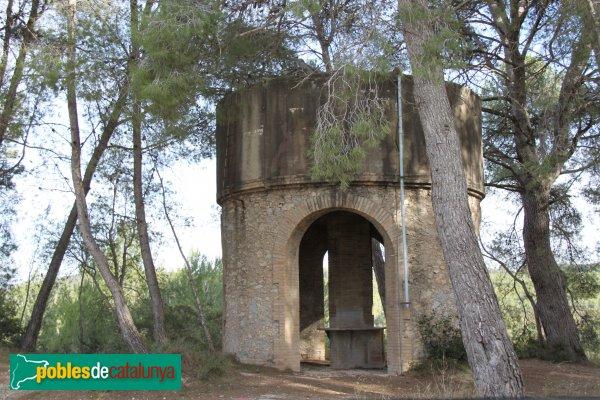 Olèrdola - Viladellops, dipòsit d'aigua