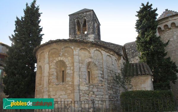 Olèrdola - Església de Sant Cugat