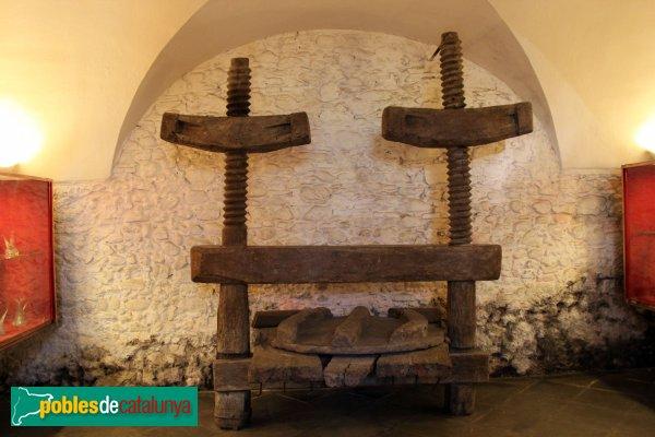 Peralada - Convent del Carme, celler