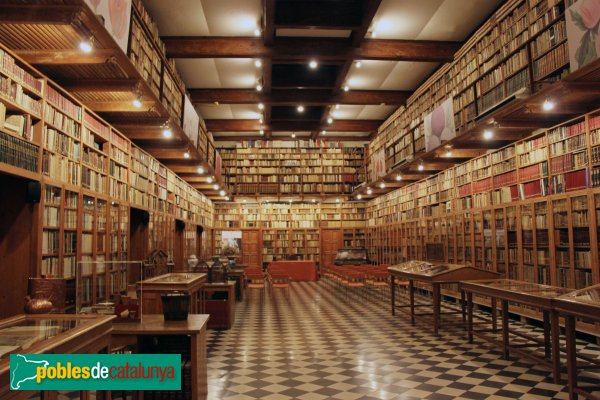 Peralada - Convent del Carme, biblioteca